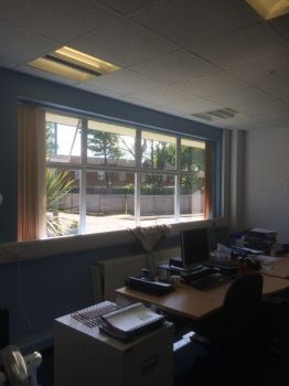 Silver reflective film for privacy/heat reduction5