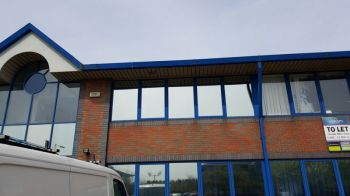3. Privacy silver anti glare-heat film MWC Chartered accountants - Middlesbrough