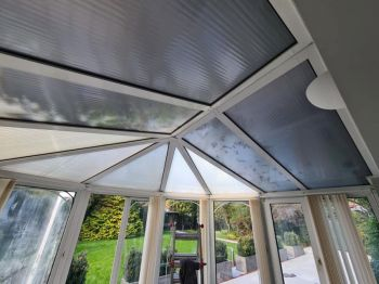 2. Solarcool installed to existing polycarbonate roof panels in Southend-on-Sea - Essex